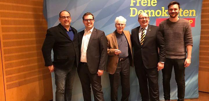 Die Delegierten des Kreisverbandes Würzburg-Land
