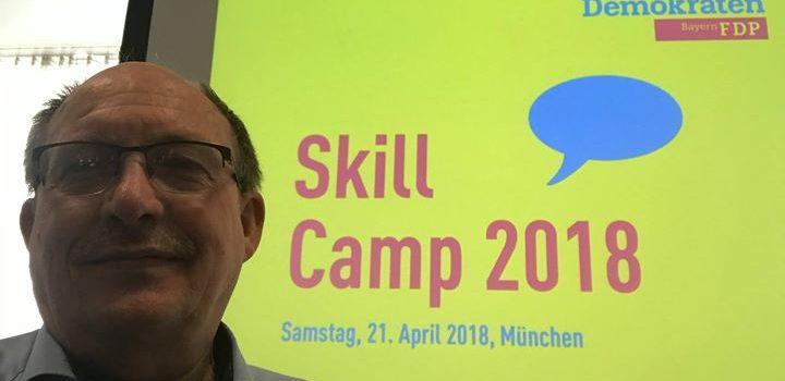Gestern auf dem Skill Camp