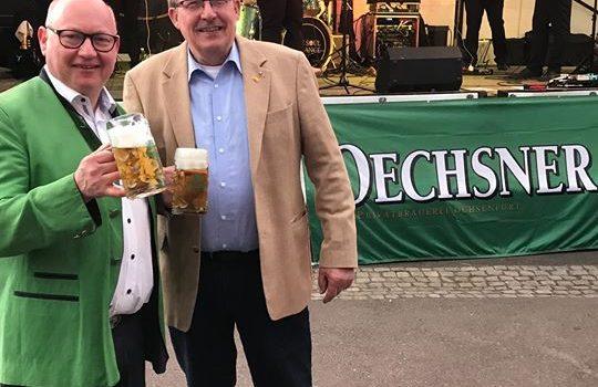 Heute auf dem Brauereifest von