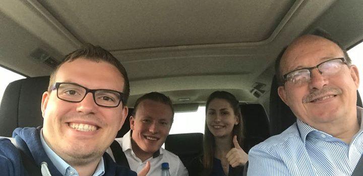 Auf dem Weg zum Bundesparteitag