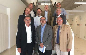 Gestern zusammen mit anderen Landtagskandidaten