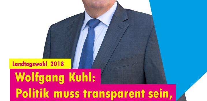 In 5 Wochen ist Landtagswahl.